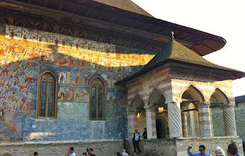 Photo: Sucevita  Monastery - Rumania