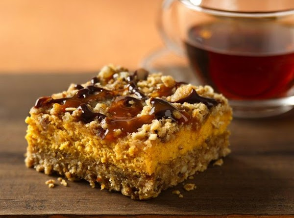 Pumpkin Pumpkin Cheesecake Bars Recipe