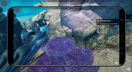 Beyond Blue Wallpaper screenshot 3