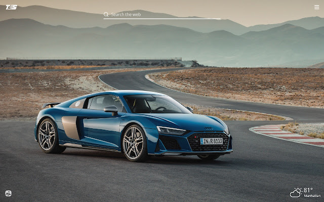 Audi R8 HD Wallpapers New Tab Theme
