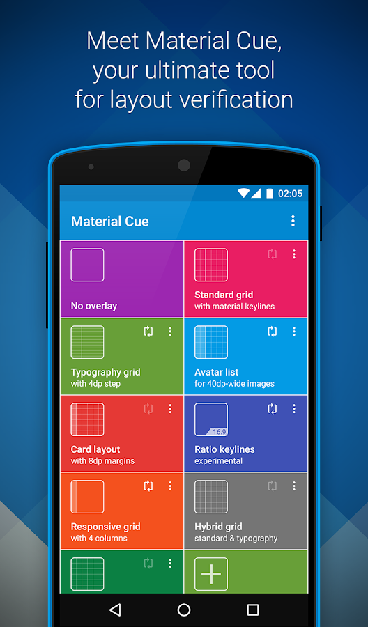 Material Cue- screenshot