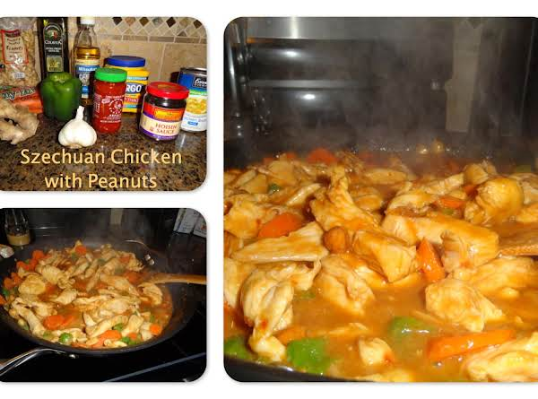 Szechuan Chicken With Peanuts Recipe