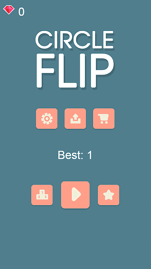 Circle Flip - Arcade Game- screenshot