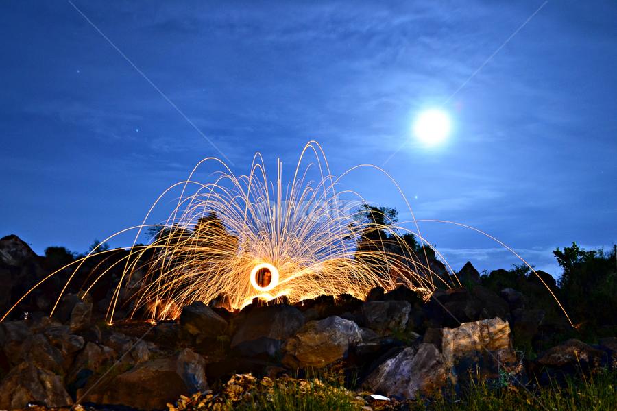 steel wool by Arifandi Krembong - Abstract Fire & Fireworks