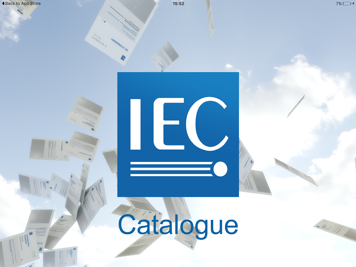 IEC Standard Catalogue- screenshot