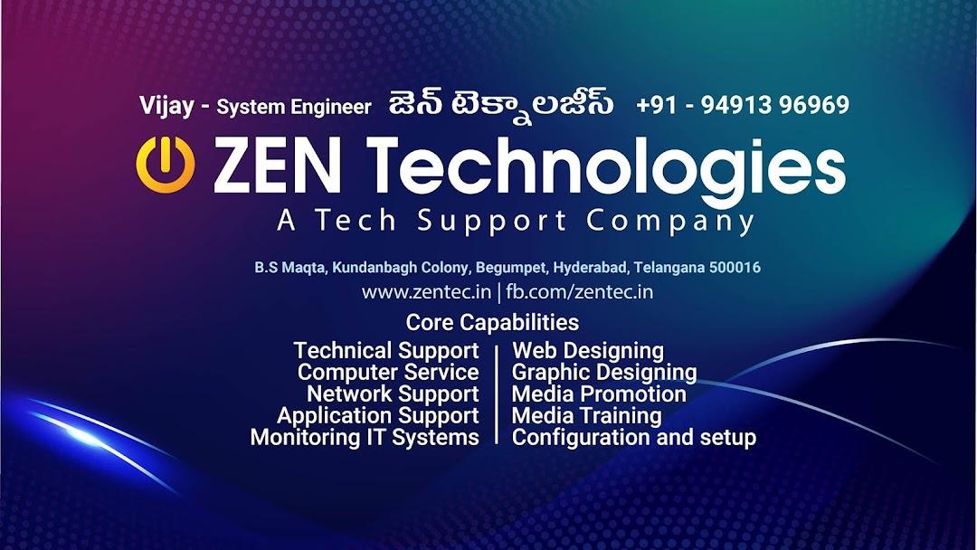 Zen Technologies Web Designer In Hyderabad