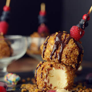 No-Fry Fried Ice Cream.