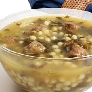 Italian Wedding Soup.