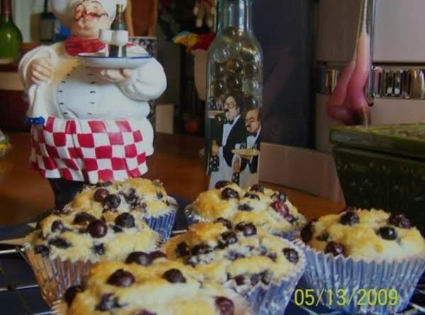 Mom's Blueberry Muffins Recipe