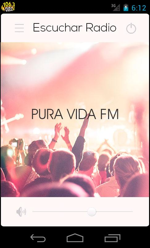 Pura Vida FM- screenshot