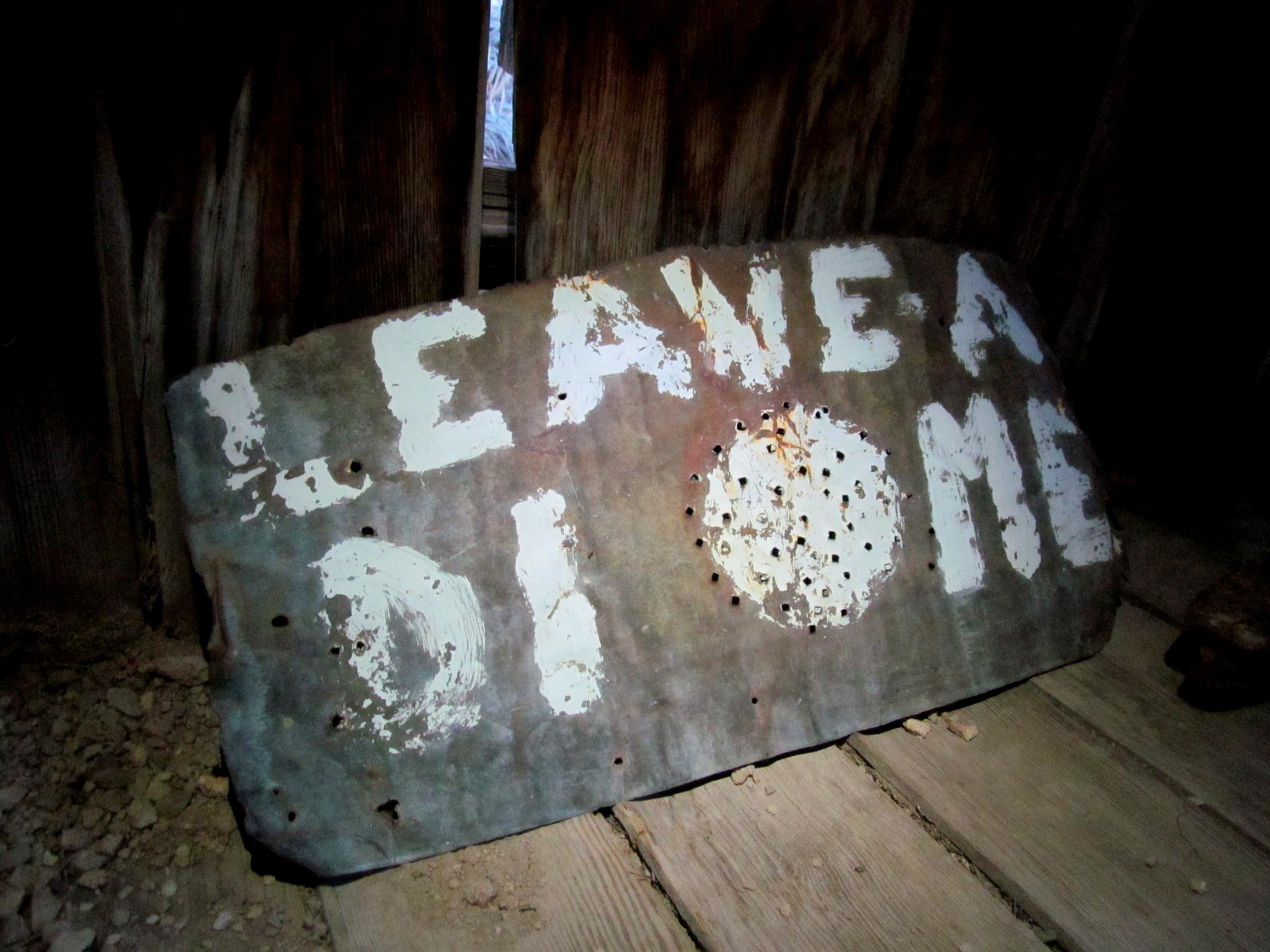 Photo: Leave a dime(?)