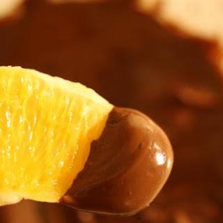 Chocolate Orange Dip with Xocai Chocolate