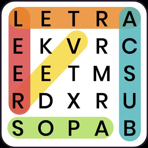 Sopa de Letras - Conecta letras gratis
