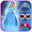 Princess Gown Fashion Photo Montage apk