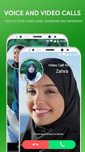 Muslim Emoji Message - náhled
