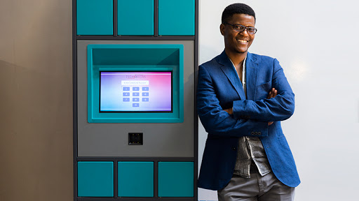 Neo Hutiri came up with the idea of a smart locker after he realised the amount of time patients lose when collecting chronic meds.