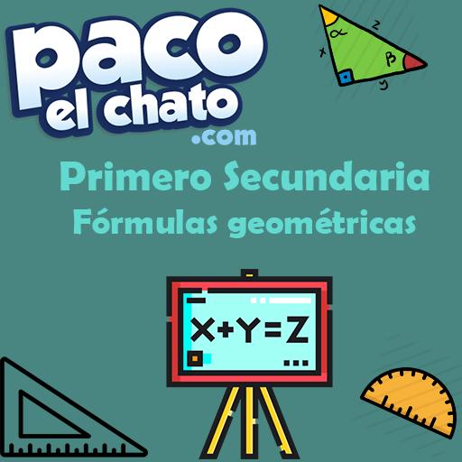 Fórmulas geométricas Primero Secundaria APK