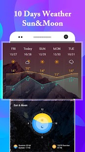 California&Sonoma Weather forecast&Fire radar app - náhled