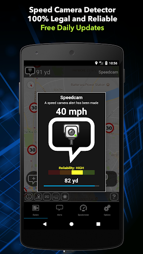 Speed Camera Detector Free  screenshots 1