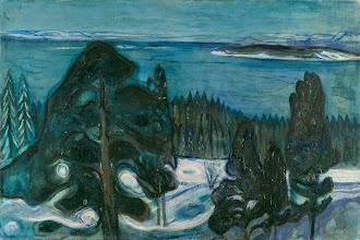 "Photo: Edvard Munch, ""Notte d'inverno"" (1900)"