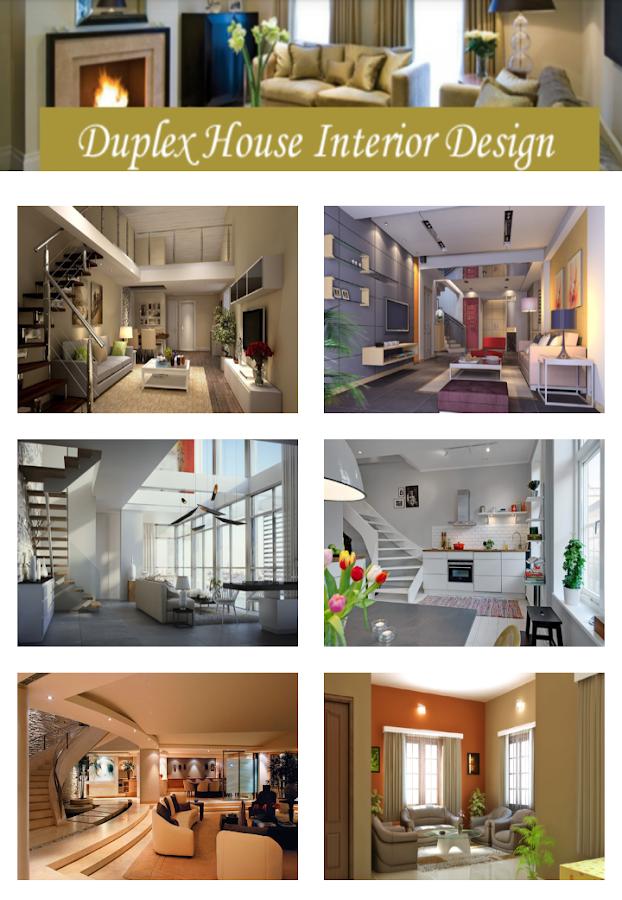 duplex house interior design screenshot