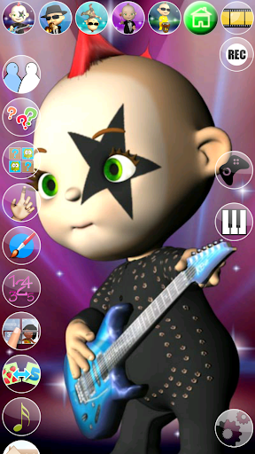 My Talking Baby Music Star 2.31.0 screenshots 8