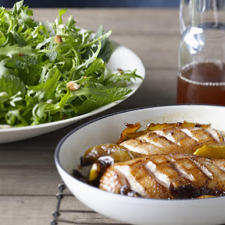 Duck and Caramelized Apple Salad.