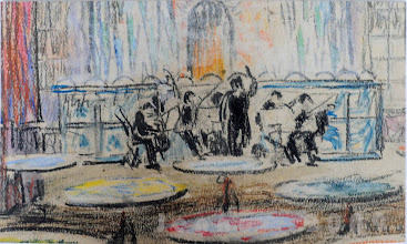 Photo: Orchester Franz Mutzenbecher gehörte zum Künstler- und Literatenkreis in Chorin in der Mark Brandenburg (weitere Mitglieder waren: die Architekten Max u. Bruno Taut, Karl Bonatz, Bruno Möhring, John Martens, der Architekt und Kritiker Adolph Behne, die Schriftsteller Emil Ludwig, alias Cohn und Hans Kaiser (Mitbegründer der Kestner - Gesellschaft), sowie der Maler Max Beckmann.