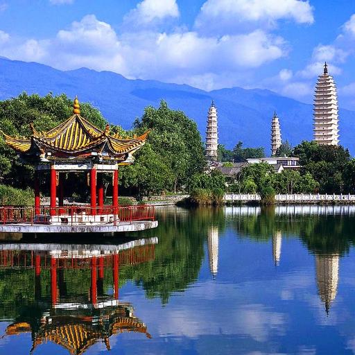 Three Pagodas Jigsaw Puzzles