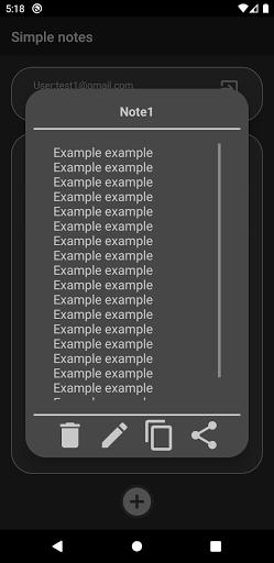 Simple Notes screenshot 3