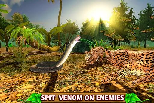 Code Triche Simulateur de serpent furieux APK MOD screenshots 2