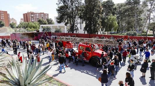 Jornada de puertas abiertas de Bomberos de Almería el domingo