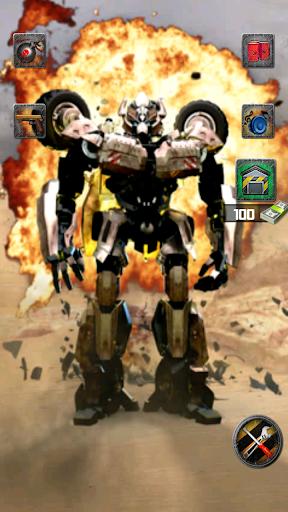 Talking Robot War