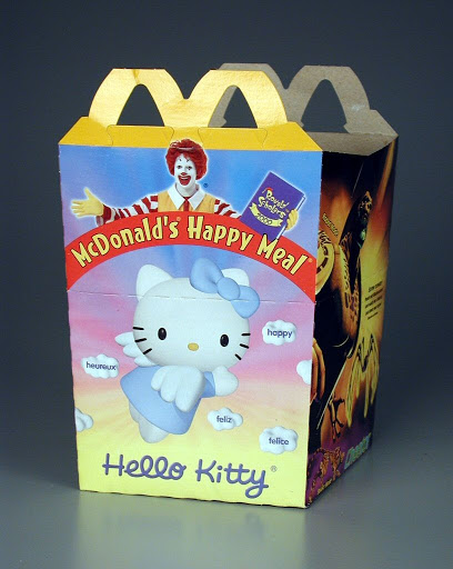 Box:McDonald's Happy Meal: Hello Kitty & Transformers Beast Machines