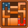 Roll the Bal - Game slide puzzle - Find the Path APK