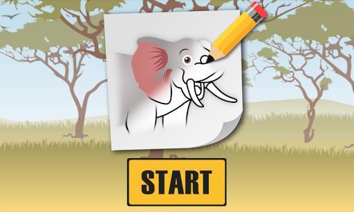 Easy Draw Animals 6-10y