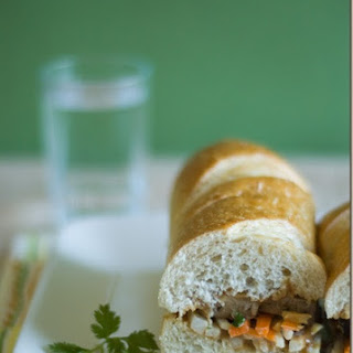 Vietnamese Tofu Sandwich.
