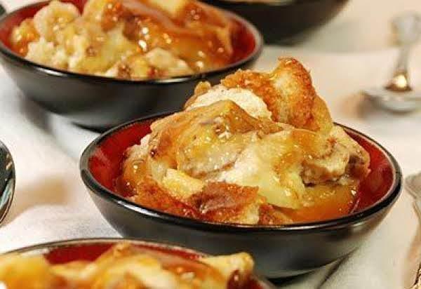 Bourbon Sauced Bread Pudding Recipe