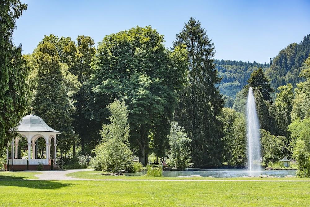 Der Kurpark in Bad Liebenzell bietet Erholung pur.