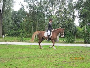 Photo: Nicole haar wedstrijd op Vosje
