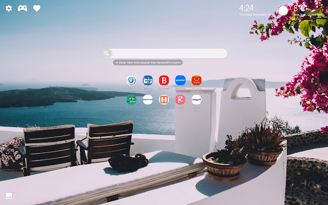 Hotel View Wallpapers New Tab