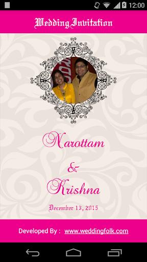 Narottam weds Krishna