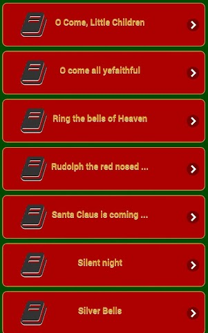 android Chants de Noël Screenshot 0