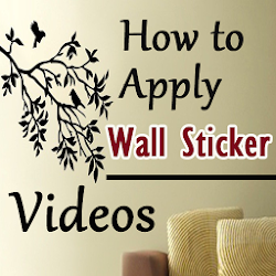 How to Apply Wall Stickers Videos - DIY Wall Decor
