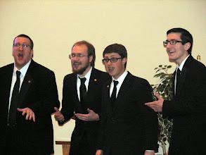 Photo: J.A.M. Quartet. Jason Weitz, Matt DeMartino, Adam Lukasik, John Donohue