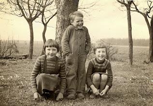 Photo: Marchie Mennega, Roelof Mennega en Aaltje Nijhof