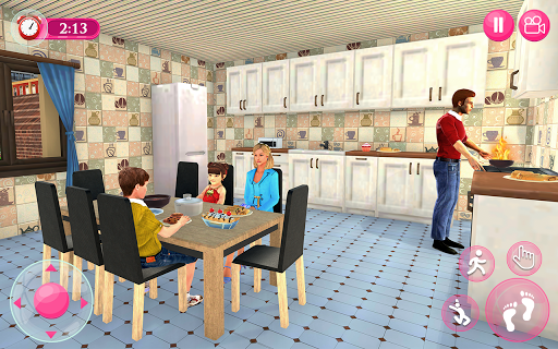 Virtual Family - Happy Life Dad Mom Simulator 2020 apkdebit screenshots 4
