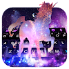 Galaxy Unicorn Keyboard Theme