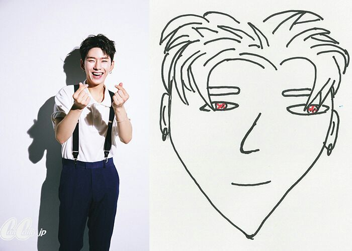 MONSTA X_DRAWING_KIHYUN