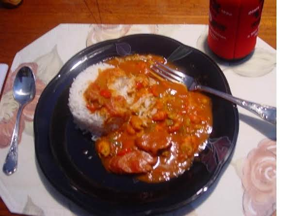 How To Make Crawfish Andouille Sausage Étouffée Recipe